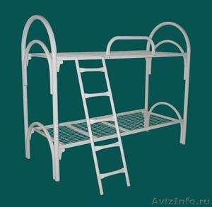 Кровати металлические для казарм, кровати двухъярусные для студентов. Дёшево - Изображение #3, Объявление #1479378