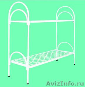 Армейские металлические кровати, кровати для рабочих, для строителей, оптом - Изображение #2, Объявление #1479392