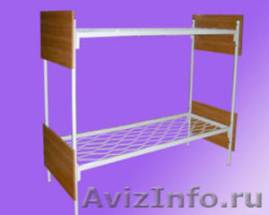 Армейские металлические кровати, кровати для рабочих, для строителей, оптом - Изображение #5, Объявление #1479392