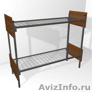 Кровати металлические двухъярусные для казарм, кровати для больниц. Дешево - Изображение #4, Объявление #1479536