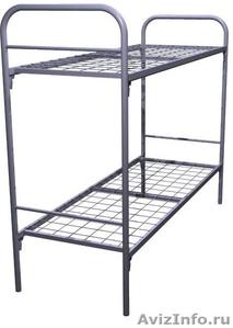 Кровати металлические для турбаз, кровати для гостиницы, для рабочих. опт - Изображение #2, Объявление #1480264
