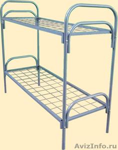 Кровати металлические для турбаз, кровати для гостиницы, для рабочих. опт - Изображение #3, Объявление #1480264