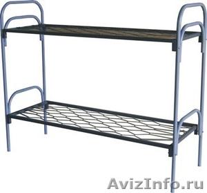 Кровати металлические для лагеря, кровати для гостиницы, кровати оптом. - Изображение #2, Объявление #1480282