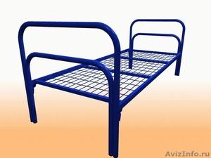 Кровати металлические для казарм, кровати двухъярусные для студентов. Дёшево - Изображение #1, Объявление #1479378