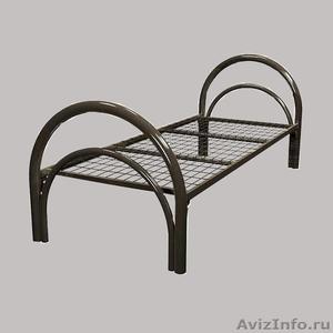 Кровати металлические для казарм, кровати двухъярусные для студентов. Дёшево - Изображение #4, Объявление #1479378