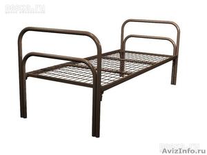 Армейские металлические кровати, кровати для рабочих, для строителей, оптом - Изображение #4, Объявление #1479392