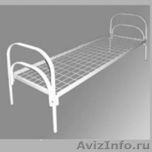 Кровати металлические двухъярусные для казарм, кровати для больниц. Дешево - Изображение #1, Объявление #1479536