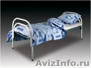 Армейские металлические кровати, кровати для рабочих, для строителей, оптом - Изображение #1, Объявление #1479392