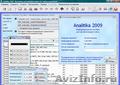 Analitika 2009 - Бесплатная программа для ведения учета и анализа деятельности