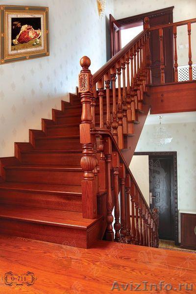 Купить деревянную лестницу в Полтаве, цены на деревянные
