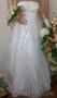 платье свадебное.