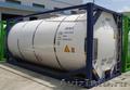Танк-контейнер T11 для перевозки опасных химических веществ.
