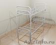 Кровати металлические двухъярусные для казарм,  кровати для больниц. опт.